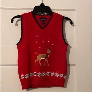Boys 4/5 Christmas sweater vest